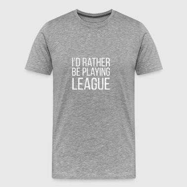 Tee Shirt lol RatherLeague Legends - Men's Premium T-Shirt