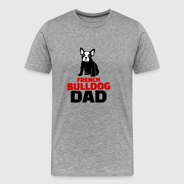 french bulldog dad rot - Männer Premium T-Shirt