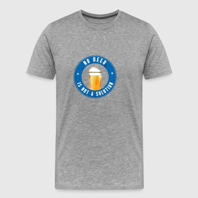 no beer pub drinking beer craft cheers celebration part - Men's Premium T-Shirt
