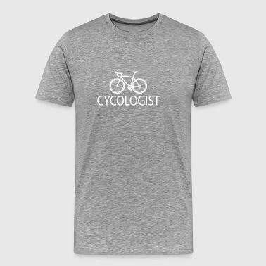 Cycling Cycologist - Men's Premium T-Shirt