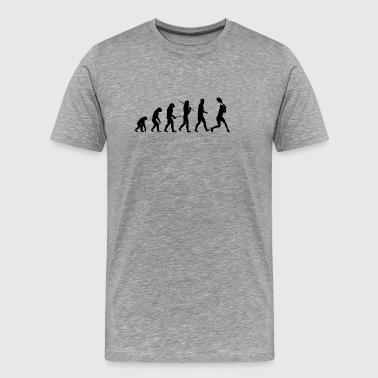 Evolution Tennis, tennis player / gift - Men's Premium T-Shirt