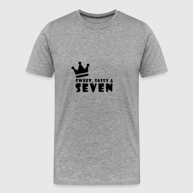 Sweet 7 child birthday - Men's Premium T-Shirt