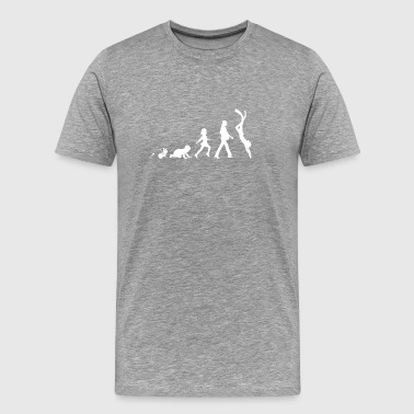 Taucherin Fun Shirt Geschenke Grow Evolution - Männer Premium T-Shirt