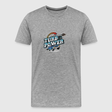 Turbo Power Tuning shirt - Premium T-skjorte for menn