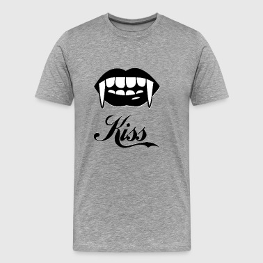 kiss blak - Men's Premium T-Shirt