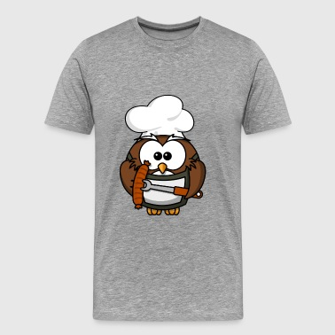 Boiling and roasting Master Owl - Men's Premium T-Shirt