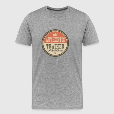 AUTHENTIC TRAINER - COACH - Men's Premium T-Shirt