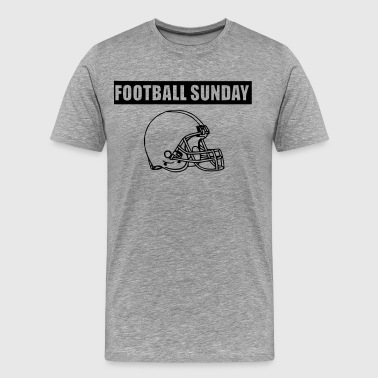 FOOTBALL SUNDAY - Men's Premium T-Shirt