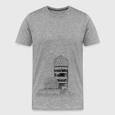 Around The World: Teufelsberg - Berlijn - Mannen Premium T-shirt