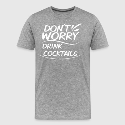 cocktails - Men's Premium T-Shirt
