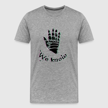 we weten - Skyrim, Dark Brotherhood - Mannen Premium T-shirt