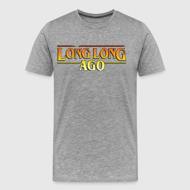 LONG LONG SEDAN Adventure - Premium-T-shirt herr