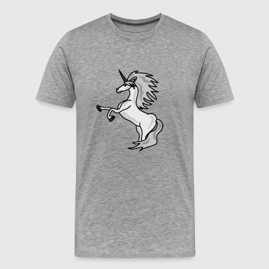 signert Unicorn - Premium T-skjorte for menn