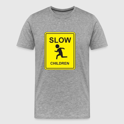 Slow Children - Männer Premium T-Shirt