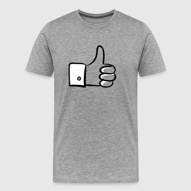Thumbs up! - Herre premium T-shirt