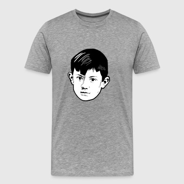 Picasso as a Child - Men's Premium T-Shirt