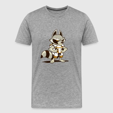 SkyRaccoon - Men's Premium T-Shirt