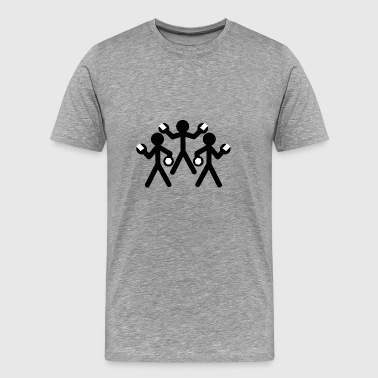 mechanica - Mannen Premium T-shirt