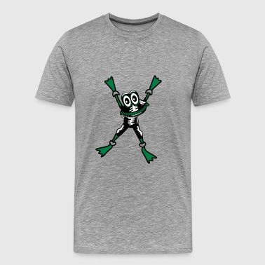 Frog SM LaTeX bondage - Men's Premium T-Shirt