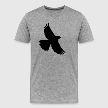 Flying bird - Men's Premium T-Shirt