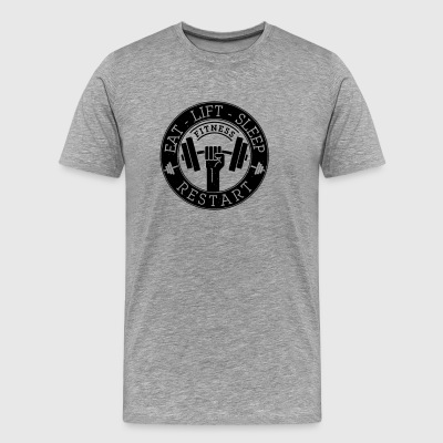 Fitness LifeStyle - Men's Premium T-Shirt