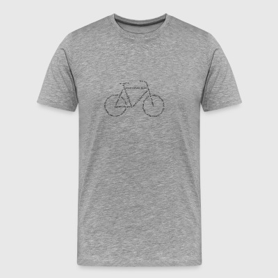 Languages ​​Bike - Men's Premium T-Shirt