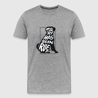 Gift saying dog animal pet gassi love of animals - Men's Premium T-Shirt