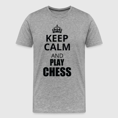 Keep calm chess - Men's Premium T-Shirt