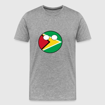 Land bollen Country Home Guyana - Premium-T-shirt herr