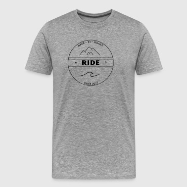 Logo official brand ride - Men's Premium T-Shirt