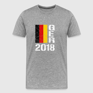 Germany Football - GER 2018 - Men's Premium T-Shirt