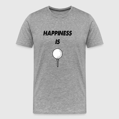 happiness is - Men's Premium T-Shirt