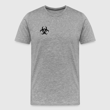 Angular Biohazard Symbol - Men's Premium T-Shirt