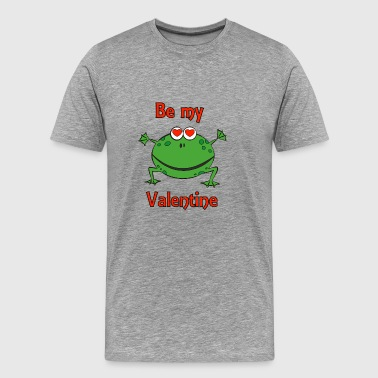 Be my Valentine - Premium T-skjorte for menn