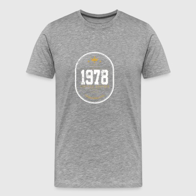 Made in 1978 Limited Edition Vintage - T-shirt Premium Homme