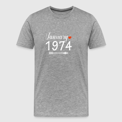 January 1974 - Men's Premium T-Shirt