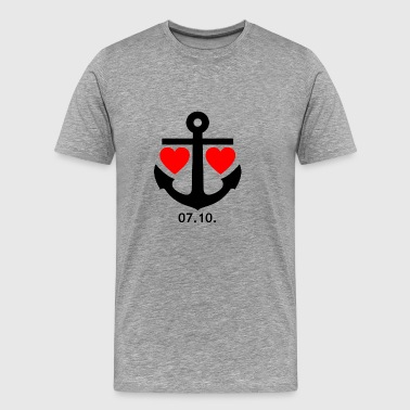 10.7. Relationship design for men & women - Men's Premium T-Shirt