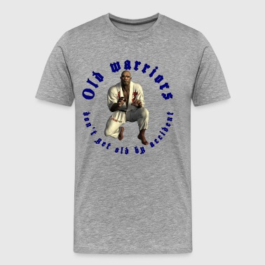 Jiu-Jitsu Old Warrior - Mannen Premium T-shirt