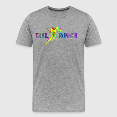Trail runner - Men's Premium T-Shirt