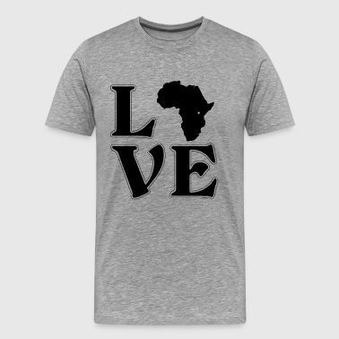 I love Africa - Africa - Adventure - Wanderlust - Men's Premium T-Shirt