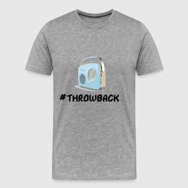 Throwback Radio - Männer Premium T-Shirt