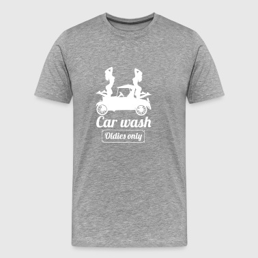 carwasholdies wite - T-shirt Premium Homme