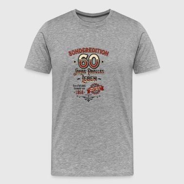 Special Edition 60 år knubbig Life 1958 Limited - Premium-T-shirt herr