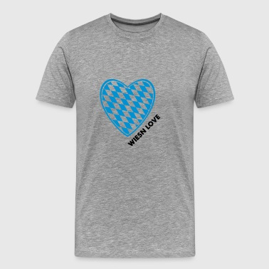 Wiesn Love / Oktoberfest Shirt / Ozapft is - Men's Premium T-Shirt