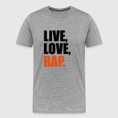 2541614 14562687 rap - Men's Premium T-Shirt