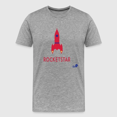 STAR ROCKET - T-shirt Premium Homme