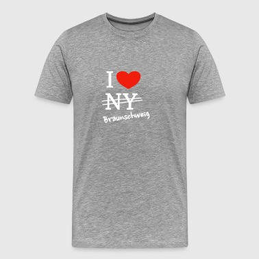 I love Brunswick - Men's Premium T-Shirt