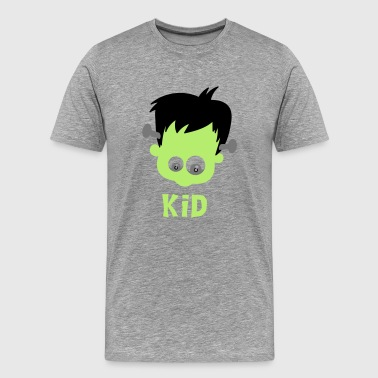 Frankenstein kid - Men's Premium T-Shirt