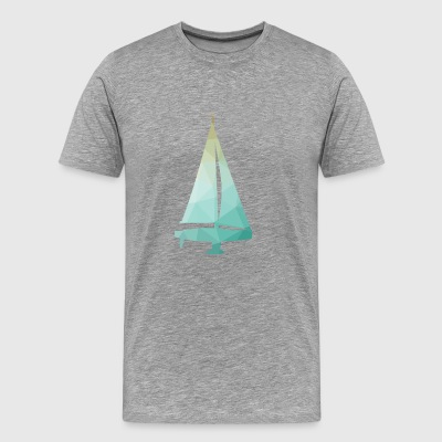 sailing ship - Men's Premium T-Shirt