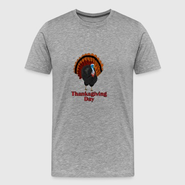 Thanksgiving-Truthahn - Männer Premium T-Shirt